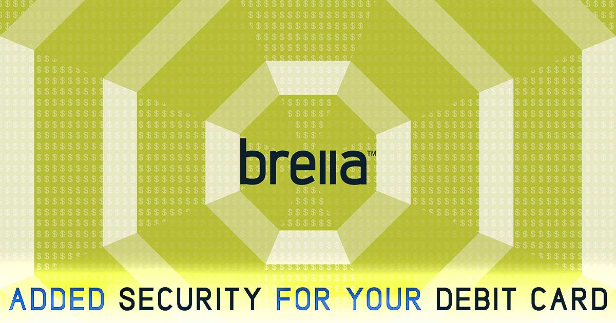Brella Debit Card Security