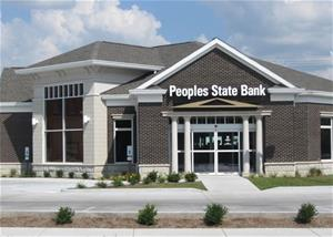 Newton Drive Up Peoples State Bank Branch